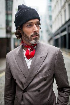 Street style during London Collections: Men spring 2017 [Photo: Kuba Dabrowski]