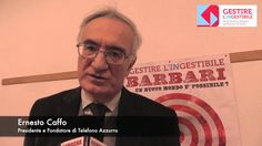 Intervista al fondatore di Telefono Azzurro. Proff.  Caffo