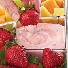 Strawberry Dip, Delicious, Dip, Appetizers, Side Dish, Football, Mexican, Tailgate, Bridal, Baby, Shower, Party, Meals, Winter, Spring, Summer, Fall, Thanksgiving, Christmas, Holiday,