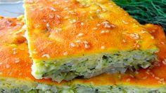 Пирог с капустой из жидкого теста: быстро и вкусно!