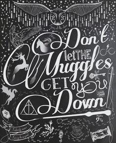 Don't let the Muggles get you down. by grumbles87.deviantart.com on @deviantART