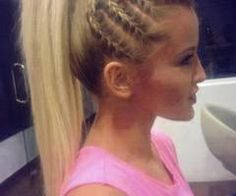 Cute hair do for a formal day