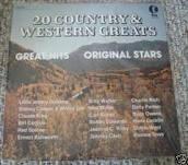 20 Country & Western Greats - various Vinyl Lp