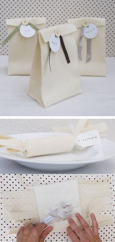 tutorial felt packaging