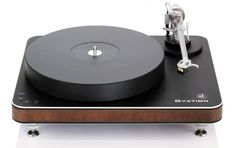 Clearaudio Ovation Turntable Black / Panzerholz Plinth
