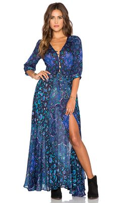 Spell & The Gypsy Collective Kiss The Sky Gown in Bluejay | REVOLVE
