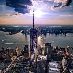 One World Trade by @10th_wonder #newyorkcityfeelings #nyc #newyork