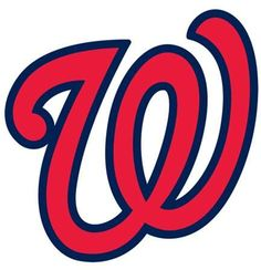 Fathead Washington Nationals Logo Giant Removable Decal - No Size