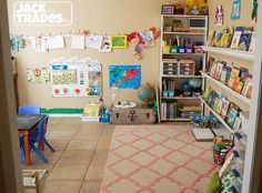 Home School: Preschool Classroom Set-up