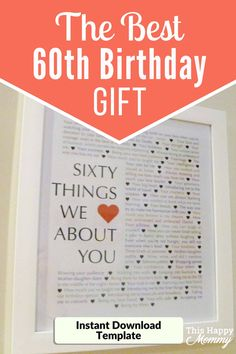 New Ideas Birthday Diy Gifts For Dad Funny Birthday Present Dad, 60th Birthday Gifts, Adult Birthday Party, Birthday Diy, Birthday Ideas, Husband Birthday, Birthday Recipes, Birthday Wishes, Birthday Nails