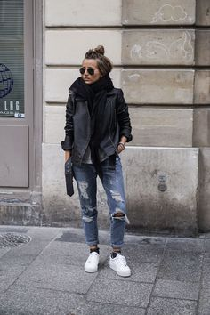 Ideas Moda Damska Wiosna 2019 For 2019 - Outfit Ideen Style Casual, Style Me, Street Looks, Street Style, Fashion Mode, Fashion Outfits, Fashion Boots, Blazer Outfit, Fall Outfits