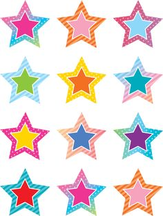 Use the Colorful Vibes Stars Mini Accents to dress up classroom walls and doors, label bins and desks, or accent bulletin boards. Each piece measures about x 10 designs. 36 accents per pack. Classroom Walls, Classroom Themes, Rain Crafts, Healthy Habits For Kids, Preschool Color Activities, Birthday Charts, Star Students, Boys And Girls Club, Star Background