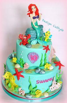 Le torte decorate di Cetty G: la sirenetta Cake...