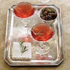 Pomegranate-Rosemary Royale | CookingLight.com