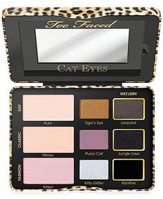 Don't you look purrrty! Too Face Cat Eye Collection