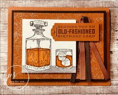 Whiskey Business from Stampin' Up!