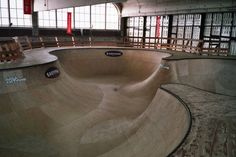 For one man this is an empty factory and for Eindhoven this is the Area 51 skatepark! Eindhoven, Skate Park, Layout, Indoor, Area 51, The Originals, Decay, Empty, Interior
