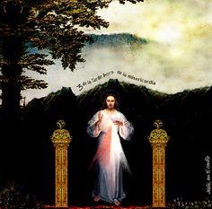 Divina Misericordia : paisaje con Jesus
