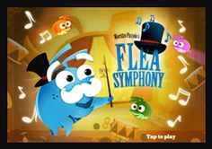 ارکستر سمفونی کَکها - یک بازی پازلی با بیش از صد مرحله - Flea Symphony mobile app http://appline.ir/index.php/component/k2/166-flea-symphony.html