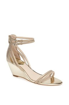 Vince Camuto 'Wynter' Sandal almost out of stock at #Nordstrom. Simple with just a bit of shimmer.