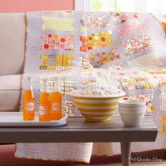 Quilts and More Magazine Spring 2013 - Fat Quarter Shop's Jolly Jabber
