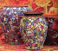 Kaffe Fassett mosaics