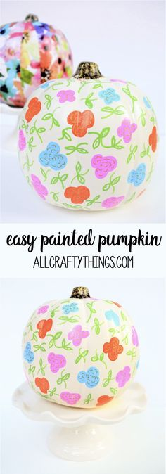 easy pumpkin decorat