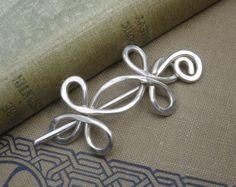 Little Celtic Double Crossed Loops Sterling by nicholasandfelice