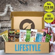 A top Christmas for any health food lover!  Packed with a bounty of deliciousness, the Vivo Lifestyle Box is the perfect way to discover a range of healthy delights we guarantee you'll love.  - A handpicked variety of healthy snacks, treats, teas and superfoods delivered straight to your door. - Packed with goodness, only the finest healthy treats make the cut! - A new box of treats every week! - Free 1st Class delivery on all Vivo Lifestyle boxes.