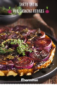 Original and delicious: we quickly test this elegant tarte tatin with onion … - Recipes Easy & Healthy Easy Smoothie Recipes, Easy Smoothies, Good Healthy Recipes, Healthy Snacks, Coconut Recipes, Tart Recipes, Snack Recipes, Good Food, Cooking