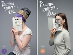 Become somebody else campaign.