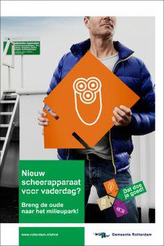 Gemeente Rotterdam - Campagne Roteb en Wecycle
