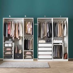 IKEA Catalog 2020 Delights with inner values. And is also well organized . IKEA Catalog 2020 Delights with inner values. And is also well organized. This image has get 167 re Ikea Closet Design, Wardrobe Design Bedroom, Master Bedroom Closet, Ikea Bedroom, Small Room Bedroom, Closet Designs, Bedroom Storage, Entryway Storage, Bedding Storage