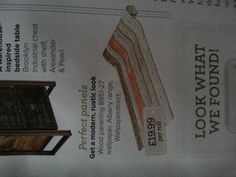 Cool wallpaper in ideal home mag