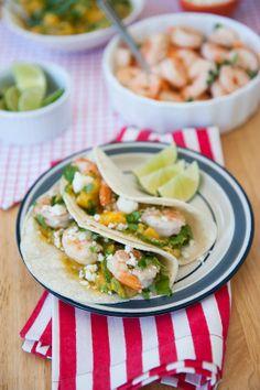 Recipe: Roasted Fish Tacos with Mango-Avocado Salsa
