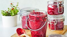 Preserves, Pickles, Mason Jars, Food And Drink, Snacks, Canning, Vegetables, Recipes, Eten