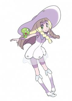 Lillie and Puni-chan