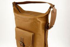Weekend BagTravel Bag - Brown Bag - Brown Genuine Leather by Pickpocket - Pickpocket Bags
