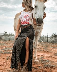 You've got to buy a few new fancy things to take with you because no NFR trip is complete without a good wardrobe to go along with it! Cowgirl Outfits, Western Outfits, Cowgirl Fashion, Gypsy Fashion, Gypsy Outfits, Gothic Fashion, Country Girls Outfits, Country Dresses, Southern Outfits