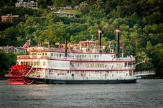 Belle of Cincinnati by Delvin Daugherty on Capture Cincinnati // BB Riverboats Belle of Cincinnati. Shot from Parties of Note Boat Party to support CSO. June 4, 2010.