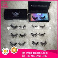 Wholesale beauty strip cruelty free 3D mink lashes and custom package