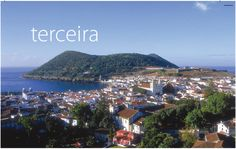 Azores Terceira island ...I stood at this spot overlooking the island. Long walk up a trail to get to this spot at the park to see this view.