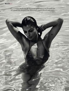 dale cuerpo al verano: helena christensen by xavi gordo for elle spain may 2013 | visual optimism; fashion editorials, shows, campaigns & more!