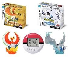 """POKEMON Heart Gold And Soul Silver Set Privilege with """"Ho-oh"""" """"Gale"""" """"Arceus"""""""