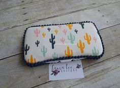 READY TO SHIP Catus Boho Travel Baby Wipe by LauraLeeDesigns108