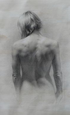 Zoey Frank (pencil and white chalk on toned paper)