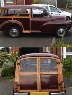 Morris Minor Morris Traveller, Surf Rods, Woody Wagon, British Car, Morris Minor, Shooting Brake, Nice Cars, Small Cars, Commercial Vehicle