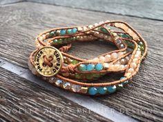 "Eeek! The NEW @premierdesignsinc ""Pop of Posh"" wrap bracelet is going to be HUGE…"