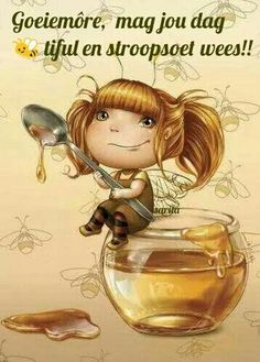 Honey fairy by LiaSelina . Need a little honey in your tea?