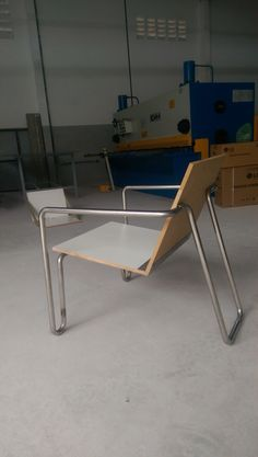 Protype chair! Tube bending machine... Stainless steel
